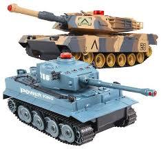 Купить <b>радиоуправляемый танковый бой Huan</b> QI Tiger vs ...