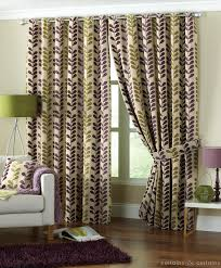 Purple Living Room Curtains Add Fashion To Your Room With Purple Green Curtains Best