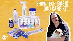 <b>Show Tech</b> Basic <b>Dog</b> Care kit | TRANSGROOM - YouTube