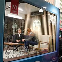 seen this week adobe think tank hits nyc at advertising week adobe tank san francisco