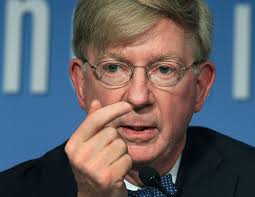 Image result for angry George Will