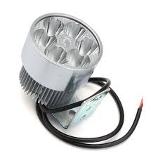 <b>12V</b> 30W Motorcycle Scooter Moped High <b>Power Spot</b> Light ...