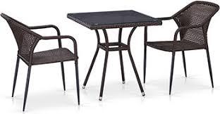 <b>Комплект мебели Афина T</b> 282 BNT/Y 35-W 2390 Brown 2Pcs ...