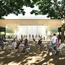 plans unveiled for visitor centre with rooftop viewing terrace at new apple campus apple head office london