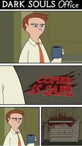 FunniestMemes.com - Funny Memes - [Dark Souls Office] via Relatably.com