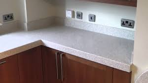 corian kitchen top: corian sahara luxury kitchen worktops by prestige work surfaces youtube