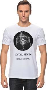 Футболка <b>классическая Printio</b> evolution (<b>1</b>) #641033