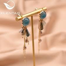 XlentAg Natural Fresh Water Pearl Designer <b>Earrings</b> For Women ...