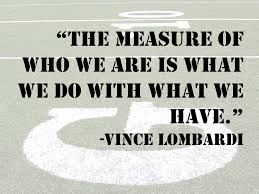Quotes From Vince Lombardi Super Bowl. QuotesGram