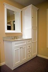 standing bathroom cabinet storage cabinets homebnc