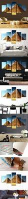 point furniture egypt x: hcozy  piece home decor oil painting egyptian pyramids hd print on canvas wall