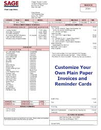 invoices custom invoices