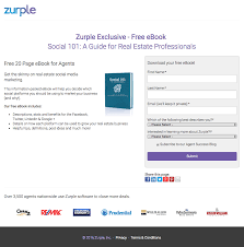 of the best landing page examples critiqued zurple landing page example