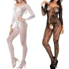 Women Sexy/Sissy Lingerie Babydoll Underwear Body Stocking ...