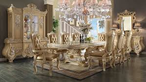 11 Piece Dining Room Set 11 Piece Homey Design Victorian Palace Hd 7266 Dining Set