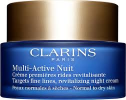 <b>Clarins Multi</b>-<b>Active Ночной</b> крем для нормальной и сухой кожи ...