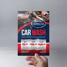 car wash templates for photoshop illustrator brandpacks car wash flyer template