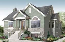 Simple House Plans  Small House Plans  amp  Affordable Home Plans from    Killarney Affordable bedroom craftsman style   computer corner   W  V
