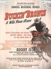 bronco rodeo flyer bucking bronco rodeo flyer