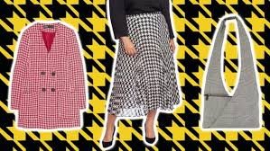 We're here for <b>houndstooth</b> — the pattern of <b>Fall</b>/<b>Winter 2019</b> runways