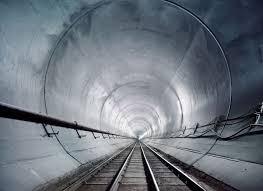 Image result for Terowongan kereta api paling panjang didunia