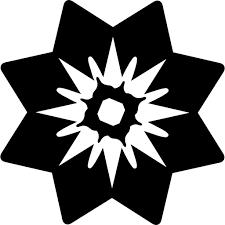 Free Icon | Flower with <b>triangular petals</b>