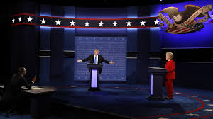 Image result for trump and clinton debate 2016