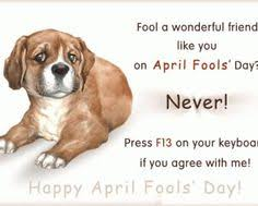 April Fools Day April Fools Garfield quote | Days, Months ... via Relatably.com