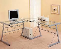 stylish corner laptop desk captivating shaped white home office furniture