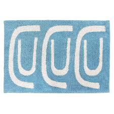<b>Коврик для ванной Go</b> Round голубого цвета из натурального ...