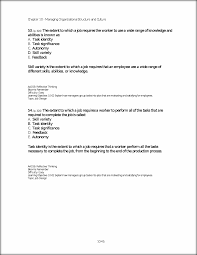 topic job design 10 43 chapter 10 managing organizational this preview has intentionally blurred sections sign up to view the full version