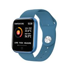 T80S <b>Body Temperature Measurement</b> Smart Watch Heart Rate ...