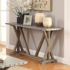 room table displays coaster set driftwood: amazoncom coaster  home furnishings sofa table driftwood kitchen amp dining
