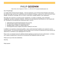 best technical project manager cover letter examples   livecareertechnical project manager cover letter examples