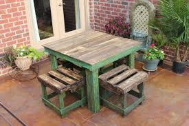 diy pallet breakfast table build pallet furniture