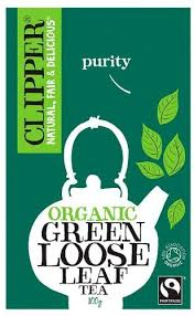Clipper <b>Organic Green Loose Leaf Tea</b> 100g (Pack of 6): Amazon.co ...