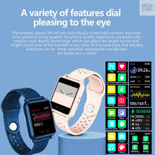 Ready Stock <b>Rollme S06</b> Sports Bracelet With Thermometer 1.3inch ...