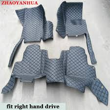 <b>Right hand drive</b> car floor mats <b>for Toyota HiLux</b> Sequoia car styling ...