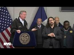 Mayor de Blasio Hosts Press Conference to Discuss Winter Weather ...