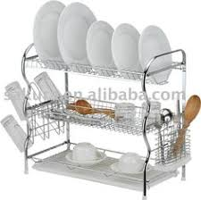 tiers metal kitchen utensil rack