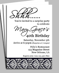 surprise birthday party invitation template com surprise birthday party invitation template right font selection for alluring party 111169
