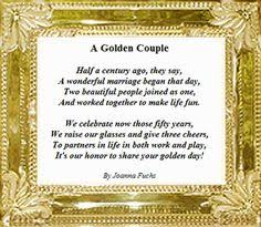 Anniversary Poems on Pinterest | Parents Anniversary Quotes, First ...