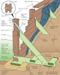 Small Picture Best 20 Retaining wall construction ideas on Pinterest