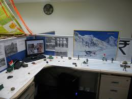 decorated office cubicles image of snow cubicle decorations attractive manly office decor 4 office cubicle
