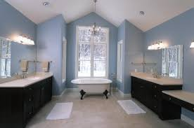 light brown lacquered wall mounted storage blue bathroom ideas pinterest blue glass round shaped sink clear glass room divider gray stained wall brown room pinterest walls