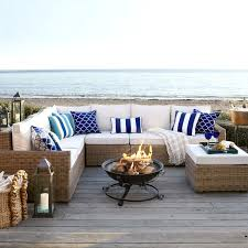 patio furniture sectional black