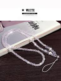 <b>Phone</b> Hang Transparent Creative Act Role Crystal <b>Beads Chain</b> ...