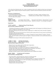 security guard resume sample resume for security guard security objectives for resume