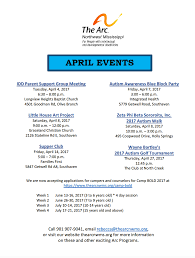 the arc northwest mississippi calendar 2017 of events