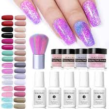 <b>NICOLE DIARY 10ml Dipping</b> System Powder Holographic Laser ...